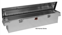 Narrow Standard Crossover Diamond Plate Toolboxes