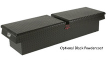 Wide and Deep Crossover Gull Wing Diamond Plate Toolboxes