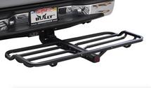 Tubular Hitch-Mounted Cargo Rack