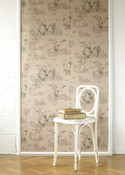 Toile Summer Wallpaper