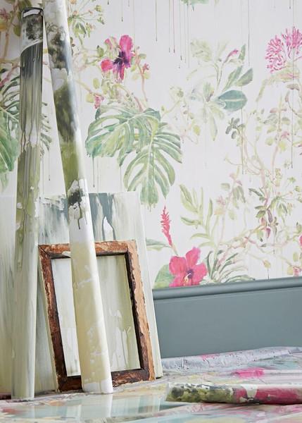 Wild Spring Rain Wallpaper