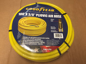 "100' X 3/8"" Pneumatic Pliovic Air Hose 300 PSI GOODYEAR #12870 1/4"" Male Thread"