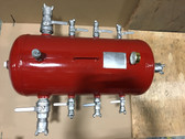 Pneumatic 8 Port Air Manifold for Construction Air Tools TX-4AMF Texas Pneumatic