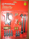 2 Piece Lot of Pneumatic Air Fitting Kit 17pcs Ingersoll Rand PF2417