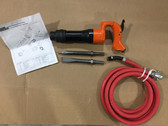 "Pneumatic Chipping Hammer MP-2820R O 2"" Demolition Hammer With Whip Assembly"
