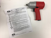 "Pneumatic 1/2"" Sq Dr. Air Impact Wrench Sioux IW500MP-4P"