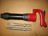 Chicago Pneumatic Air Chipping Hammer CP 3 Hex +2 Bits