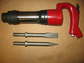 Chicago Pneumatic Air Chipping Hammer CP 2R +2 Bits
