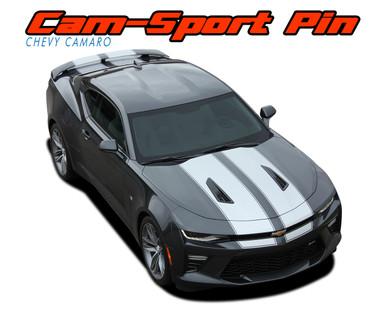 cam sport pin | camaro stripes | camaro decals | camaro