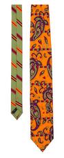 Dancing Paisley Necktie