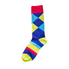 The Bouncing Colors Sock