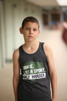 Boys Dark Gray Tank