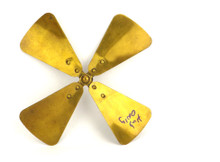 """8"""" Westinghouse All Brass Fan Blade Sold for Hub Only"""