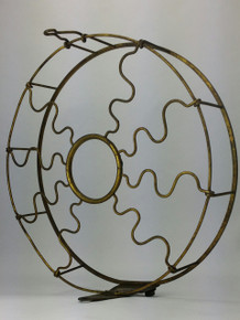 "Original 12"" Westinghouse Brass Vane Cage"