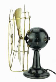 Rare Fort Wayne Electric Ball Motor Brass Fan