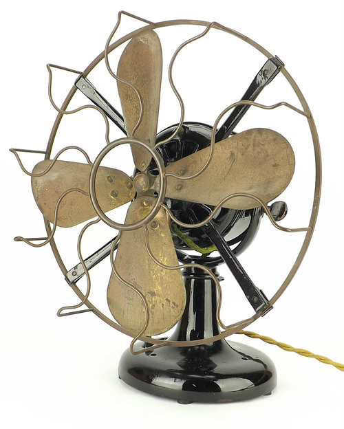 Direct Current Fan : Early quot westinghouse tank motor fan antiquefanparts