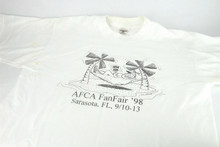 Vintage Fan Fair 1998 T Shirt with Stan Good Drawing