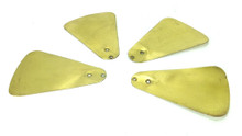 "Original Brass Wings from 8"" ECK Fan (set of 4)"