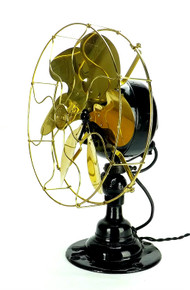 Emerson 21666 Brass Blade 6 Wing Desk Fan