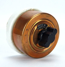 Copper Rotary Snap Switch Off & On