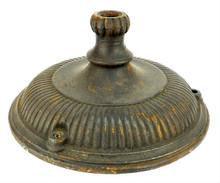 Original 1901-1902 GE Pancake Base