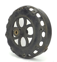 "Original 1901-1903 12"" GE Pancake Front Motor Housing"