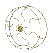 "Original 16"" Drop Ring GE Brass Cage"