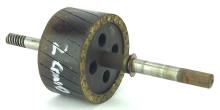Original Rotor for 2 Conductor GE Brass Bell Oscillator