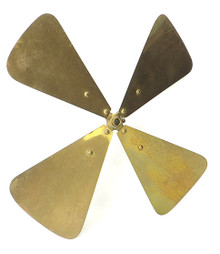 "ORIGINAL 16"" WESTERN ELECTRIC BIPOLAR BRASS BLADE"