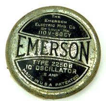 Original Emerson 2250B Cage Badge
