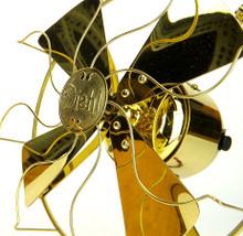 "Professionally Restored All Brass 8"" Diehl Fan"