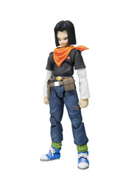 Dragon Ball Z: Android 17 S.H.Figuarts Action Figure