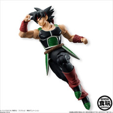Bandai Shokugan Shodo Dragon Ball Z Neo Bardock Action Figure