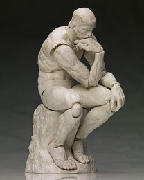 Table Museum: The Thinker Figma Plaster Ver. SP-056b Action Figure