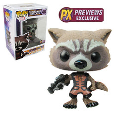 Guardians of the Galaxy Rocket Ravenger Outfit PX POP Vinyl Figure
