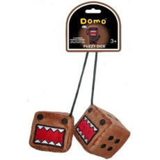 Domo-Kun Fuzzy Dice Cosplay Plush