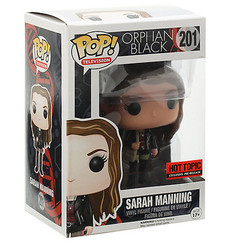 Orphan Black TV Sarah Manning #201 Funko POP Vinyl Figure Hot Topic exclusive