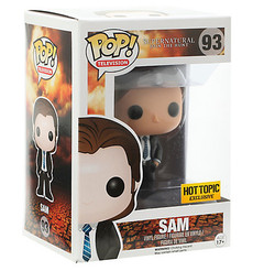 Supernatural FBI Sam #93 Funko POP Vinyl Figure Hot Topic Exclusive