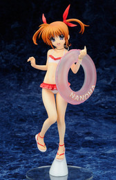 Lyrical Nanoha Movie 1st: Nanoha Takamachi Swimsuit Ver. 1/7 Scale Figure