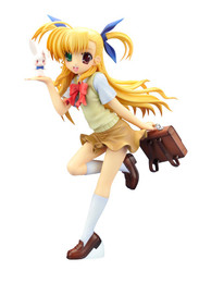 Magical Girl Lyrical Nanoha Vivio Takamachi 1/7 Scale Figure /w Chris 2 Styles