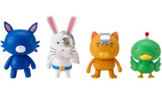 Astro Fighter Sunred: Animal Soldier Figures (Set of 4)