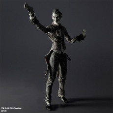 Batman Arkham Asylum: Joker B&W Play Arts Kai Action Figure SDCC 2012
