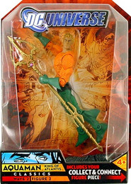 DC Universe Series 2: Aquaman Long Hair Action Figure