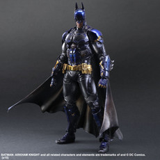 Batman Arkham Knight: Batman BLUE Ver. Play Arts Kai Action Figure SDCC 2015