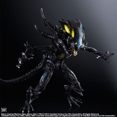 Aliens Colonial Marines: Spitter Play Arts Kai Action Figure