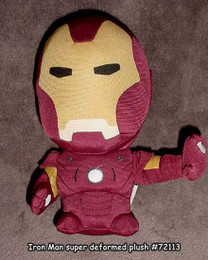 Marvel Super Deformed Iron Man Doll Plush