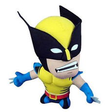 Marvel Super Deformed Wolverine Doll Plush