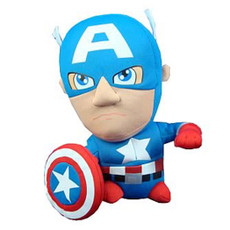 Marvel Super Deformed Captain America Doll Plush