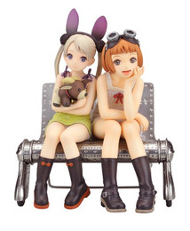 Last Exile: Alvis & Lavie 1/8 Scale Figure (Fam The Silver Wing)