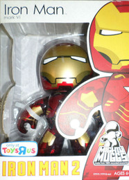 Marvel Mighty Muggs: Iron Man 2 Mark VI Figure TRU Exclusive